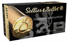 Sellier & Bellot 45 Colt Ammunition SB45F 230 Grain Jacketed Hollow Point 50 Rounds
