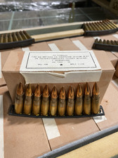 Romanian Surplus 7.62x39mm M67 Ammunition M67CRATE1120 Non-Magnetic Full Metal Jacket CRATE 1120 Rounds