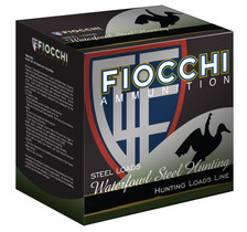 "Fiocchi 12 Gauge Ammunition Shooting Dynamics FI123ST2 3"" Steel #2 Shot 1 -1/8oz 1500fps 25 Rounds"