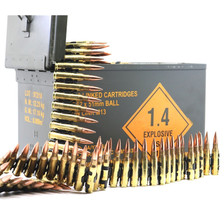Magtech 7.62x51mm NATO M80 Linked Ammunition MT762A-LINKED 147 Grain Full Metal Jacket Ball CAN 500 Rounds