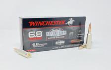 Winchester 6.8 Western Ammunition S68WLR 165 Grain Accubond Long Range Ballistic Tip 20 Rounds