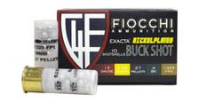 "Fiocchi 12 Gauge Ammunition FI12HV4BK 2-3/4"" 27 Pellet 4 Buck 10 Rounds"