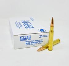 Maine Cartridge Company 30-06 Ammunition MCC3006150 150 Grain Full Metal Jacket 20 Rounds