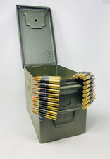 Maine Cartridge Company 30-06 Springfield Ammunition MCC3006LINKCAN600 150 Grain Full Metal Jacket LINKED CAN 600 Rounds