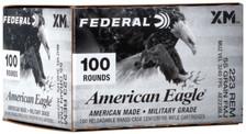 Federal American Eagle 223 Remington Ammunition AE223BLKX 55 Grain Full Metal Jacket 100 Rounds