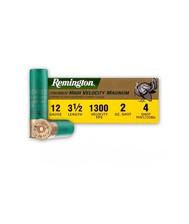 "Remington High Velocity Magnum 12 Gauge Turkey Load Ammunition PHV1235M4 3-1/2"" 2 oz #4 Shot 10 Rounds"