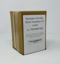 Remington 22LR Ammunition *Damaged Box* TB22ABOX150X  Thunderbolt 150 Rounds