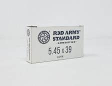 Century Red Army Standard 5.45x39 Ammunition AM3372 60 Grain Full Metal Jacket 20 Rounds