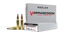 Nosler 222 Rem Ammunition NOS65135 40 Grain FB Ballistic Tip 20 Rounds