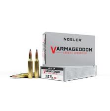 Nosler 243 Win Ammunition NOS61029 70 Grain Varmageddon Ballistic Tip 20 Rounds