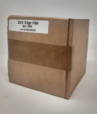 Defender 223 Rem Ammunition *REMAN* DEF223FMJ500R 55 Grain Full Metal Jacket 500 Rounds