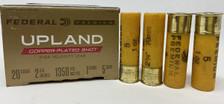 "Federal UPLAND 20 Gauge Ammunition  PF2045  2-3\4"" 1 oz #5 Shot 25 Rounds"