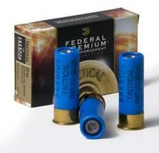 """Federal 12 Gauge Ammunition Hydra-Shok Tactical LEF127RS 2-3/4"""" Rifled Slug 1oz 1610fps 5 Rounds"""