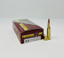 Precision One 6.5mm Creedmoor Ammunition PONE1053 140 Grain Soft Point 20 Rounds