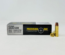 Precision One 500 S&W Mag Ammunition PONE1350 350 Grain Soft Point 20 Rounds