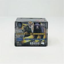 Federal 9mm +P Ammunition P9SHC1 147 Grain Syntech Jacket Flat Nose 20 Rounds