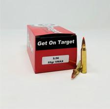 On Target 5.56x45mm Ammunition OTA556VM50 55 Grain V-Max 50 Rounds