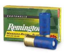 """Remington 12 Gauge Rifled Slug RR12RSB 2-3/4"""" 1oz 1200fps Managed Recoil 5 Rounds"""