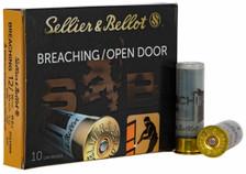 "Sellier & Bellot 12 Gauge Ammunition SB12BR 2-3/4"" 1/2 oz Breaching Polymer Shot 10 Rounds"