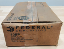 Federal 10mm New Primed Brass F10EP 1000 Pieces