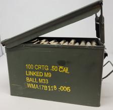 Tactical Manufacturing 50 BMG *REMAN* Ammunition 50BMGAPICAN150 647 Grain API Tracer FMJBT 150 Rounds