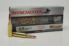 Winchester Copper Impact 6.8 Western Ammunition X68WLF 162 Grain Ballistic Tip 20 Rounds