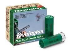 """Remington 12 Gauge Ammunition Gun Club GC12L9BOX 2-3/4"""" 1-1/8oz #9 1145fps 25 Rounds"""
