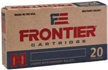 Hornady 5.56x45mm NATO Ammunition Frontier M193 FR200 55 Grain Full Metal Jacket *18* Rounds *Repackage*
