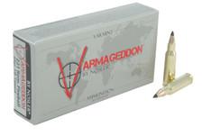 Nosler Varmageddon 221 Rem Fireball Ammunition NOS65125 40 Grain Flat Base Ballistic Tip 20 Rounds