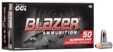 CCI Blazer Clean Fire 9mm Ammunition CCI3462 147 Grain Total Metal Jacket 50 Rounds
