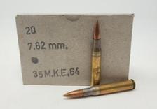Turkish Military Surplus 7.62x63mm (30-06) Ammunition AM8006 151 Grain Full Metal Jacket 20 Rounds *Repackaged*
