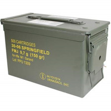 Prvi PPU 30-06 Ammunition PP347 150 Grain Full Metal Jacket Ammo Can 500 Rounds