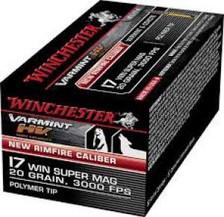 Winchester Varmint HV 17WSM 20Gr V-Max S17W20 50 rounds