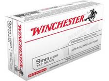 Winchester 9mm USA9JHP2 147 gr JHP 50 rounds