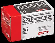 Aguila 223 Remington Ammunition 1E223110 55 Grain Full Metal Jacket CASE 1000 rounds