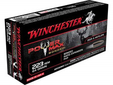 Winchester 223 Rem Power Max X223R2BP 64 gr Protected Hollow Point 20 rounds