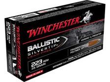 Winchester 223 Rem Ammunition Supreme S223RLF 35 Grain Ballistic Silver Tip Lead Free 20 rounds