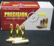 Precision One 38 Special Ammunition 125 Grain REMAN Full Metal Jacket 50 rounds