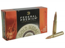 Federal 30-06 Gold Medal GM3006M 168 gr Sierra Matchking BTHP Match 20 rounds