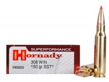 Hornady 308 Win Superformance H80933 150 gr SST 20 rounds