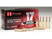Hornady 17 WSM H83180 20 gr V-Max 50 rounds