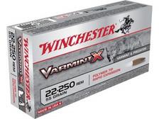Winchester 22-250 Varmint X X22250P 55 gr Polymer Tip 20 rounds