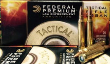 Federal 223 Remington Ammunition Tactical TRU T223E 55 Grain Sierra Gameking Boat Tail Hollow Point 20 rounds
