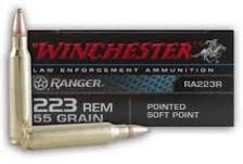 Winchester 223 Rem Ranger RA223R 55 gr SP 20 rounds