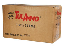 Tula 7.62x39 122 gr FMJ CASE 1000 rounds