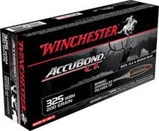 Winchester 325 WSM Expedition Big Game Ammunition S325WSMCT 200 Grain Polymer Tip 20 rounds
