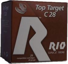 """Rio 28 Gauge Ammunition 2-3/4"""" 3/4oz #9 1300FPS CASE 250 rounds"""