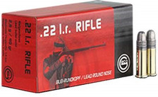 GECO 22 LR Ammunition GE254040050 40 Grain Lead Round Nose 50 Rounds