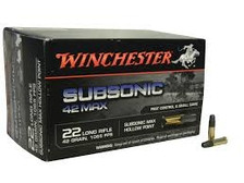 Winchester 22LR Subsonic 42 MAX HP 42gr 50 rounds