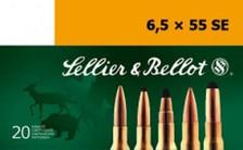 Sellier & Bellot 6.5x55 Swedish Ammunition SB6555C 140 Grain Full Metal Jacket 20 Rounds